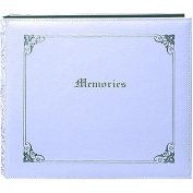 Pioneer 'Memories' 12x12 White Memory Book Binder with 40 Bonus Pages