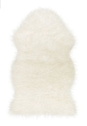 Faux White Sheepskin Rug New Super Warm Soft & Cosy :New .  by WW shop