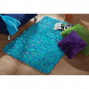Shag & Flokati your Zone Blue Spiker Rug, 0.9m x 1.2m