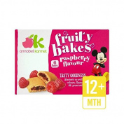 Annabel Karmel Raspberry Bakes 12+ Months 6 per pack