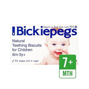 Bickiepegs Natural Teething Biscuits for Children 38g