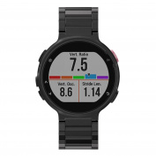 For Garmin Forerunner 220 230 235 630 620 735,Sunfei Metal Stainless Steel Watch Band Strap