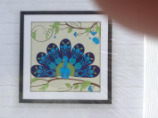 Artist's Loft Colouring Canvas Panel Peacock