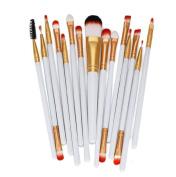 Cosmetic Brushes ,Vovotrade 15pcs Makeup Brush Set tools Make-up Toiletry Kit Wool Make Up Brush Set