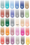 Chameleon Marker Ink Refill Kits Set of 30 Colours Newest Colours, Each 25 ml
