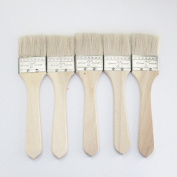 5 pcs Wool Brush, brush glue,sweep gold leaves,Good quality wool brush,soft, a good tool for gilding leaves,. 2