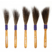 Set of 5 - Original Mack Sword Striper Pinstriping Brush - Sizes