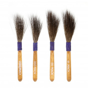 Set of 4 - Original Mack Sword Striper Pinstriping Brush - Sizes