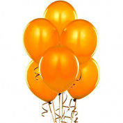 28cm Latex Balloons Orange Pkg/100