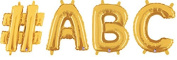 Custom Balloon Banner - Make your own letter banner