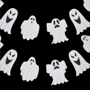 Quasimoon Halloween Ghosts Paper Garland Banner (3m) by PaperLanternStore