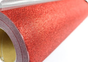 Techtongda 3m Red Glitter Heat Transfer Vinyl Garment Printing Industry DIY Press Business