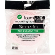 Couture Creations Foam Mounting Tape 18mmx4m-