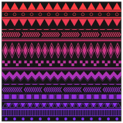 Vinyl Boutique Shop Craft Adhesive Red and Purple Dark Ombre Adhesive Vinyl Sheets Adhesive Vinyl 0123-9