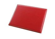 Fiorentina Padded Red Leather Guest Book