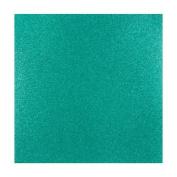 Coredinations 12x12 Glitter Silk Cardstock - Jaded Green - 2 Sheets