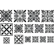 Cool Tools - Jewel Stamps for Soft Clay - Filigree Squares 2