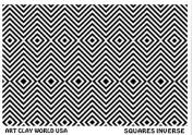 FlexiStamps Texture Sheet Squares Inverse Design - 1 pc.