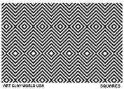 FlexiStamps Texture Sheet Squares Positive Design - 1 pc.