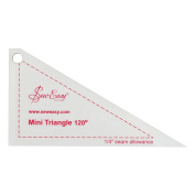 Sew Easy Mini Triangle 120° Quilting/Patchwork Template