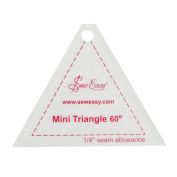 Sew Easy Mini Triangle 60° Quilting/Patchwork Template