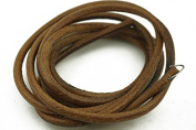 "70""(180cm) Leather Belt for Singer Treadle Sewing Machine Cowhide Belting 3/16"""