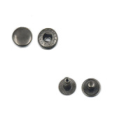 One Setting Tool + 50 Pcs Rapid Rivet Button Snap Fasteners Leather Craft Hardwaree