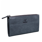 Lt Tribe Compact Business Wallet Leather Card Case Clutch for Men and Women