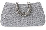 Thenice Women's Rhinestone Wedding Sequins Evening Clutch Bags