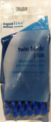 12 Pack Twin Blade Plus Disposable Razors with Lubricating Strip for Men