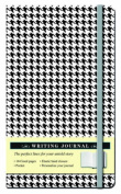 Herringbone Black and White Journal