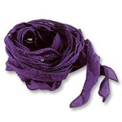 Silk Ribbon Purple