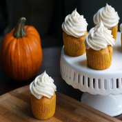 PUMPKIN CUPCAKE FRAGRANCE OIL - 60ml - FOR CANDLE & SOAP MAKING BY VIRGINIA CANDLE SUPPLY WITH .  WITHIN USA