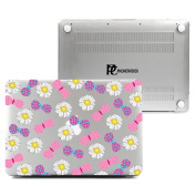MacBook Air 13 Clear Case, Plastic Hard Shell Snap On Case Cover for Macbook Air 33cm (A1466 & A1369)