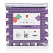 Knitting Blocking Mat Set - Extra Thick .200cm , Steam and Wet Block, Durable, Storage Bag Included, Easy to Use, Easy to Store