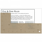 Kansas Troubles Five & Dime Ruler