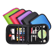Evelin LEE Portable Beginner Mini Travel Sewing Kit Emergency Travel Home Supply