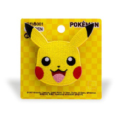 "Pokemon ""Pikachu"" 001 Applique embroidered iron on PATCHES/Badge/Wappen/ワッペン/패치"