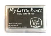 New DIY Reusable BABY PRINT INK PAD Footprint Handprint Kit - BLACK - BabyPrints