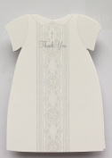 Die-cut Baptismal Dress Thank You Notes