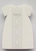 Die-cut Baptismal Dress Thank You Notes