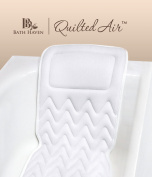 QuiltedAir BathBed(™) -FULL BODY COMFORT- Luxury Spa Bath Pillow and Mat
