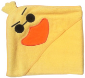 """Too Tough"" Duck Yellow Hooded Towel, Babies and Toddlers, 100% Cotton"