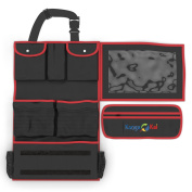 Brand NEW! - Backseat Car Organiser for Children and Toddlers - Includes 20cm x 25cm iPad/Tablet Sleeve - Multiple Pockets for Storage
