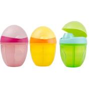 SKK Baby Cute Formula Milk Powder Dispenser Non-Spill Travle Divider Powder Storage Container Yellow