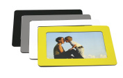 Set of 4 Classical Magnetic Picture Frames 10cm X 15cm Magnetic Fridge Frame Perfect for Holding Notes Files and Photos