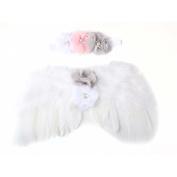 OVERMAL Baby Newborn Toddler Angel Wings Headband Hairband Flower Photography