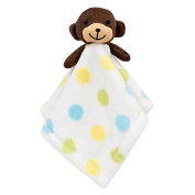 Curly Tails Boys Dots Little Monkey Security Snugglie Blanket