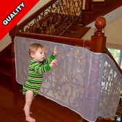 Hiltow Balcony Stairs Safety Net for Children