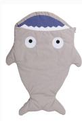 Baby Newborn Shark Sleeping Bag Sack Swaddle Wrap Blanket Stroller Bedding Quilt